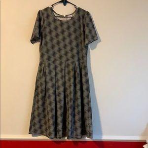 XL Lularoe Amelia Dress with pockets